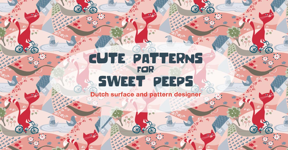 cute patterns for sweet peeps